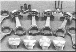 Поршни (кованные, стандартные и использованные)