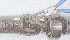 Извлечение стопорных колец