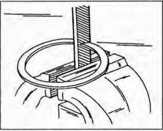Стачивание кольца