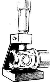 Выпрессовывание подшипника с помощью съемного устройства