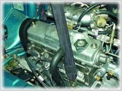 Снятие двигателя на ремнях