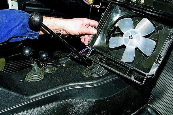 Отопитель ваз 2105 замена вентилятора