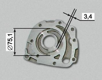 Допустимый диаметр посадочного места и допустимая толщина перегородки