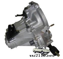 Общий вид коробки передач ВАЗ 2110