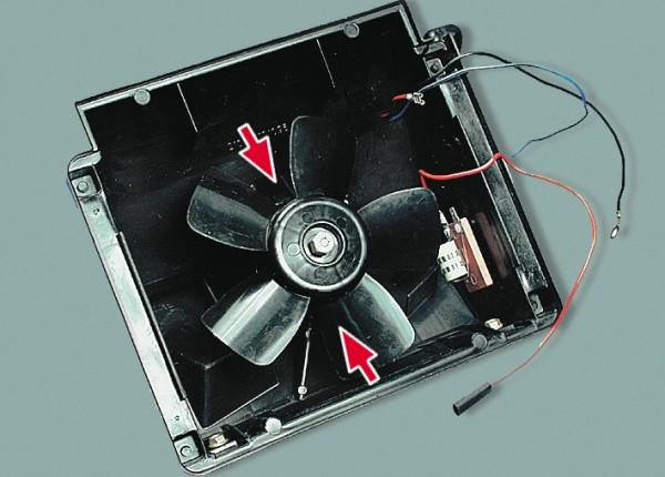 Вентилятор ваз 2107