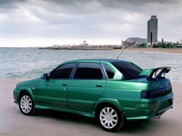 Общий вид автомобиля ВАЗ 2110