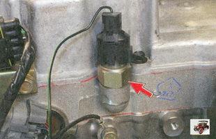 Защитный резиновый колпачок датчика аварийного давления масла