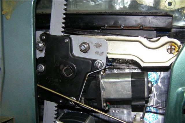 Фото №7 - как установить реечные стеклоподъемники на ВАЗ 2110