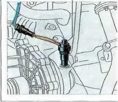 Ваз 2110 замена датчика скорости