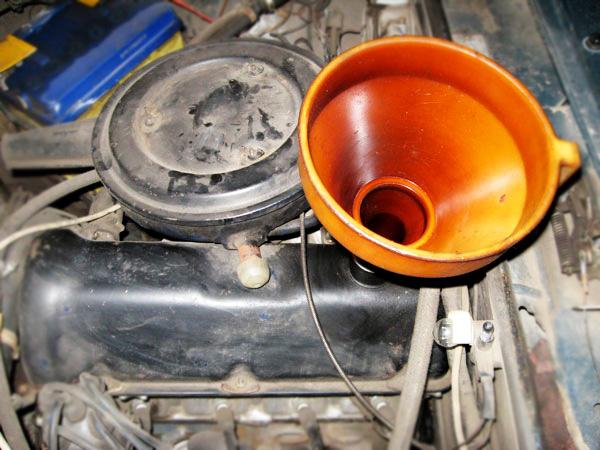 ВАЗ 21063 замена масла в двигателе
