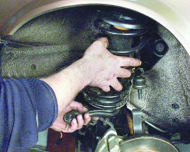 передней подвески ваз 2109