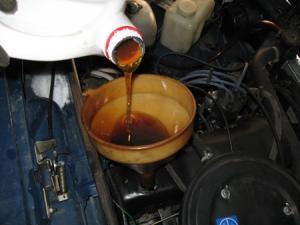 Замена смазки в двигателе ваз 2115