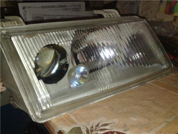 Как снять стекло с фары ваз 2114