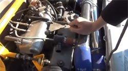 Установка двигателя на авто ВАЗ 2108