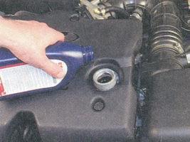 Замена масла в двигателе ваз приора