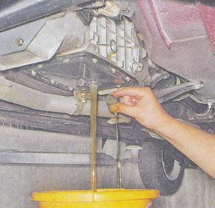 Замена масла в коробке передач ваз 21074