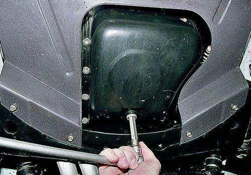 Замена моторного масла ваз 2114