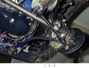 Передняя подвеска автомобиля ВАЗ 2109