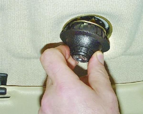 Лампа в салоне ваз 2110 и ее замена
