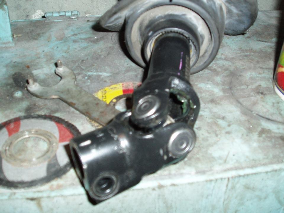 Снятие крышки рулевого колеса