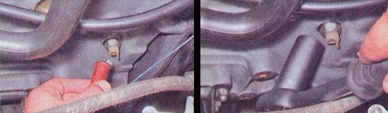 Расположение датчика давления ваз 2107