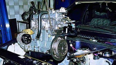 Ремонт автомобиля ВАЗ 2109
