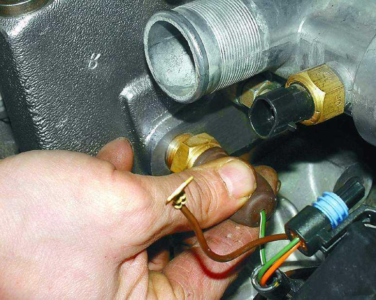 Датчик температуры двигателя фото фото