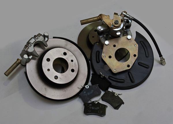 Ваз 2110 комплект задних дисковых тормозов