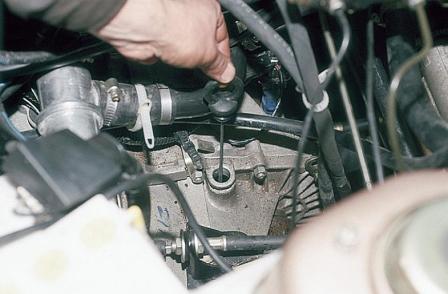 Ваз 2110 как проверить масло в коробке передач
