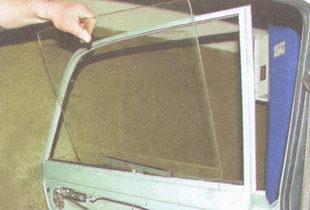 Замена бокового стекла в ваз 2110
