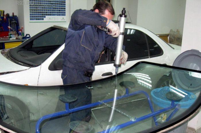 Замена лобового стекла ВАЗ 2110 88