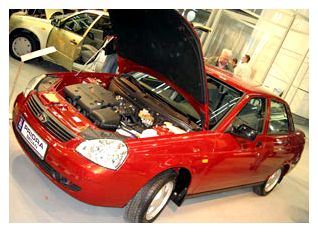 Замена масла на автомобиле ВАЗ Приора