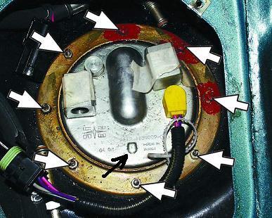 Замена электробензонасоса ваз 2110