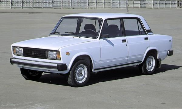 Общий вид автомобиля ВАЗ 2105