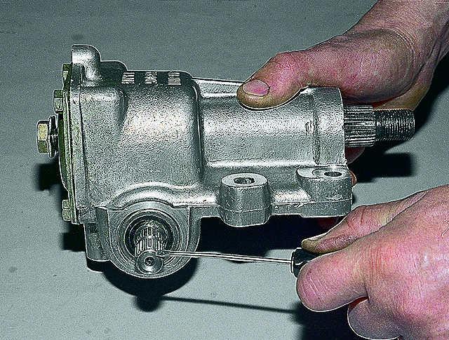 Рулевой редуктор 21213 ремонт своими руками