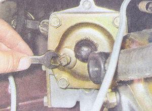 Замена масла в рулевой колонке ваз 2107