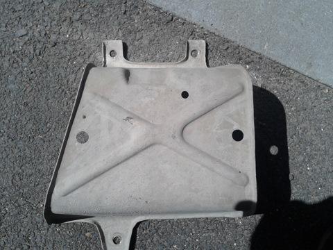 Защитный экран рулевой рейки