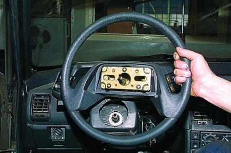 Ваз 2110 снятие рулевого колеса