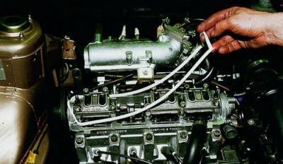 Замена сальников клапанов ВАЗ 2108