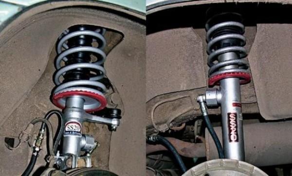 Амортизаторы газовые задние на ваз 2110