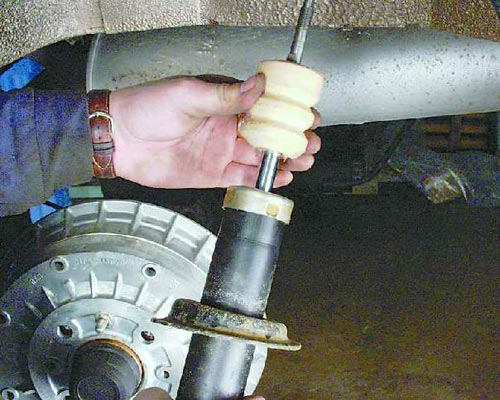 Амортизатор задней подвески ваз 2110