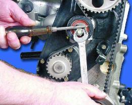 Ваз 2110 как подтянуть ремень генератора