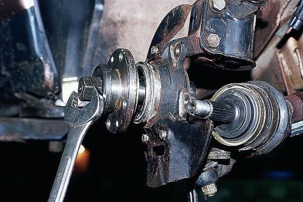 Ваз 2110 передняя ступица