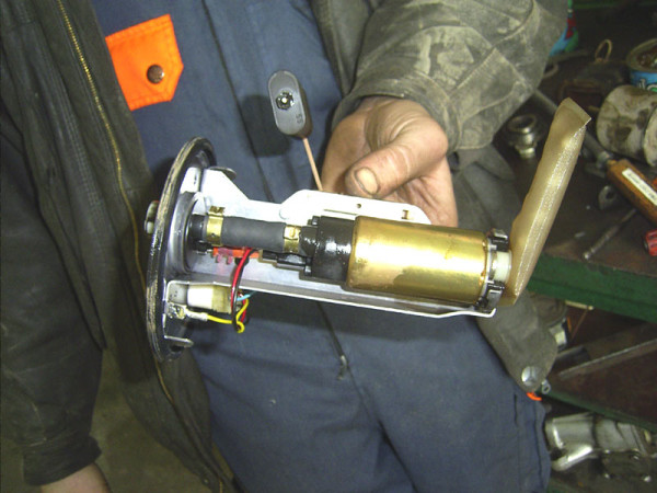 Ваз 2110 бензонасос установка