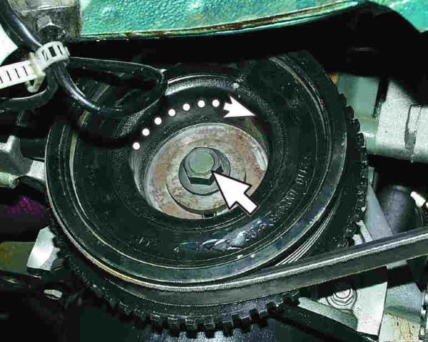 Ваз 2110 ремень генератора 8 кл