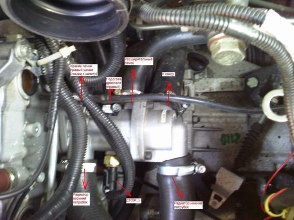Ваз 2110 переделка с карбюратора на инжектор