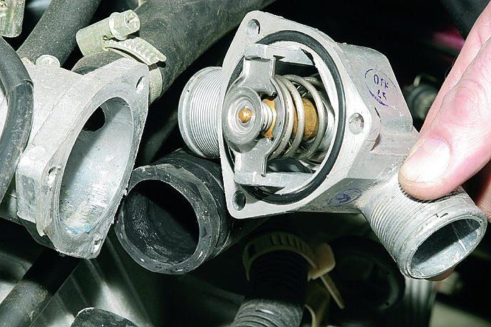 Ваз 21102 охлаждение двигателя