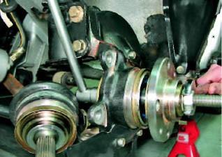 Замена переднего ступичного подшипника на ВАЗ 2112