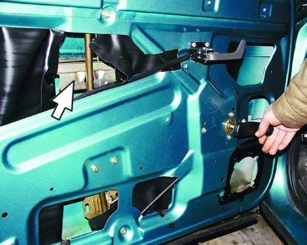 Замена электродвигателя на стеклоподъемника ваз 2110