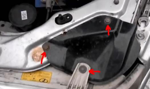 Замена передних поворотников ваз 2110